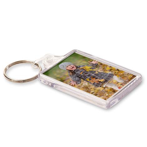 Personalised Acrylic Photo Keyring
