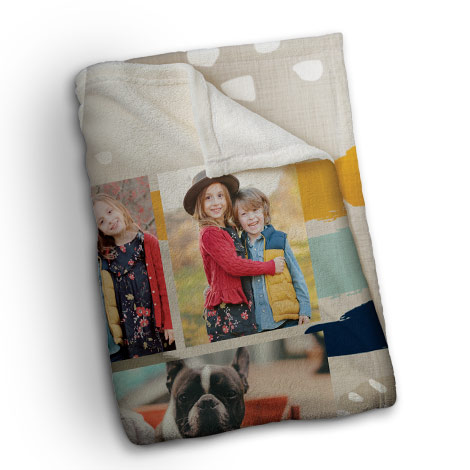 60x50'' Plush Photo Blanket
