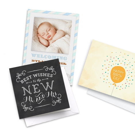 Save 30% on all photo cards including free delivery!