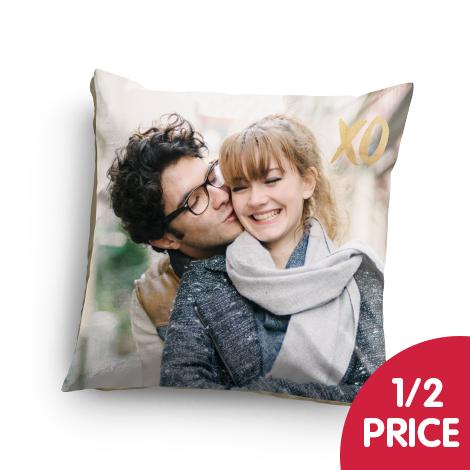 "Half price on an 18x18"" cushion"