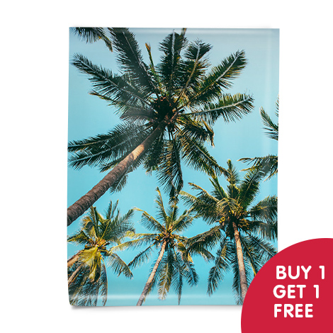 Buy 1 get 1 free on all posters