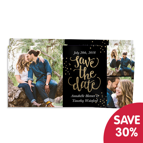 Save 30% on photo cards