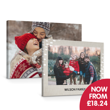 Better than 1/2 price on selected Classic Canvases