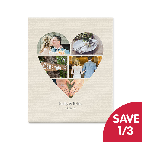 Save 1/3 on slim canvases