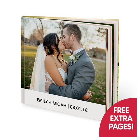 Free extra pages on photo books!