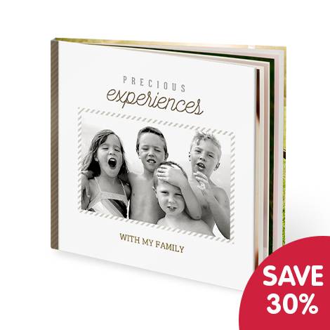 "Save 30% on 12x12"" photo books"