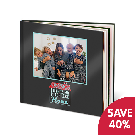 Save 40% on layflat photo books