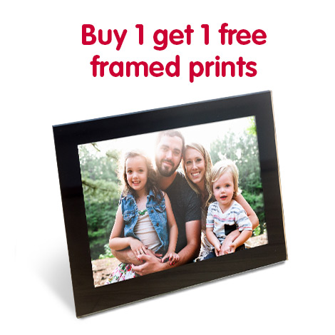 Buy 1 get 1 free framed prints