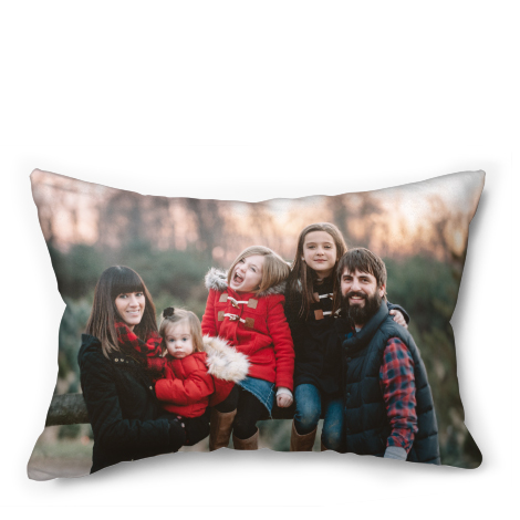 "20x14"" Faux Suede Cushion"