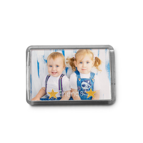 "3x2"" Acrylic Fridge Magnet"