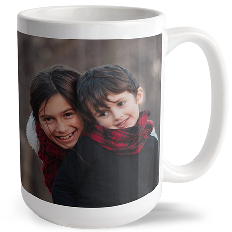 15oz Personalised Photo Mug
