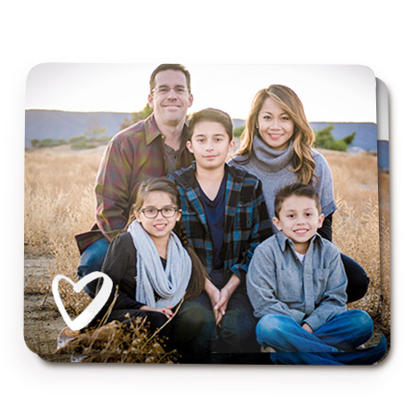 Set of 2 Personalised Photo Placemats