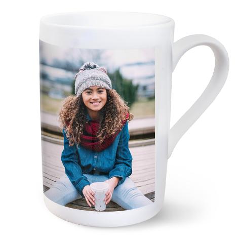 10oz Personalised Porcelain Photo Mug