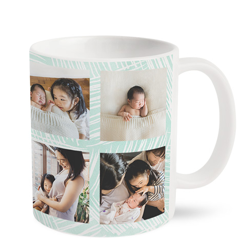 11oz Matt Finish Personalised Photo Mug