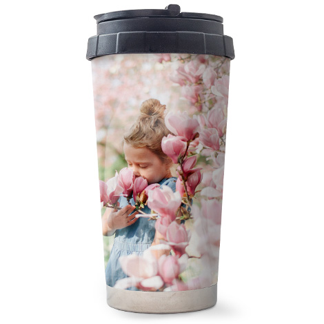 16oz Travel Personalised Photo Mug