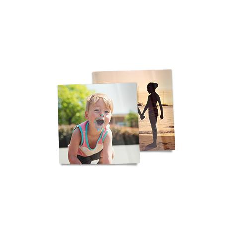 """4x4"""" Square Photo Prints of a boy"""