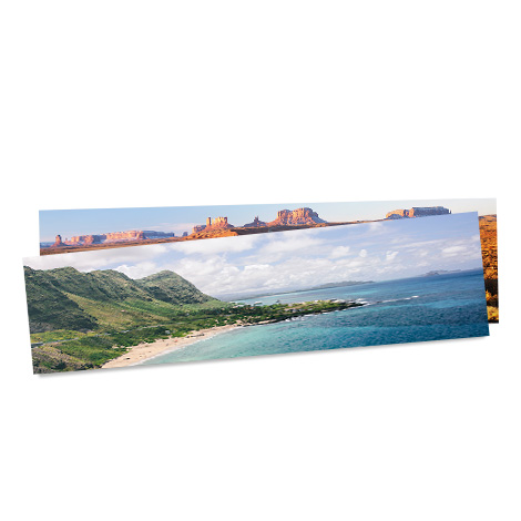 "22x5"" Panoramic Print of a scenery"