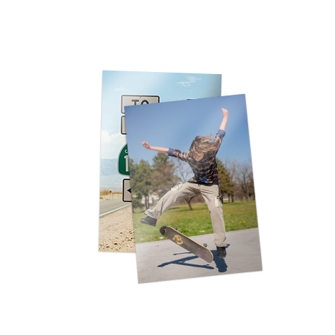 "7x5"" large print of skater"
