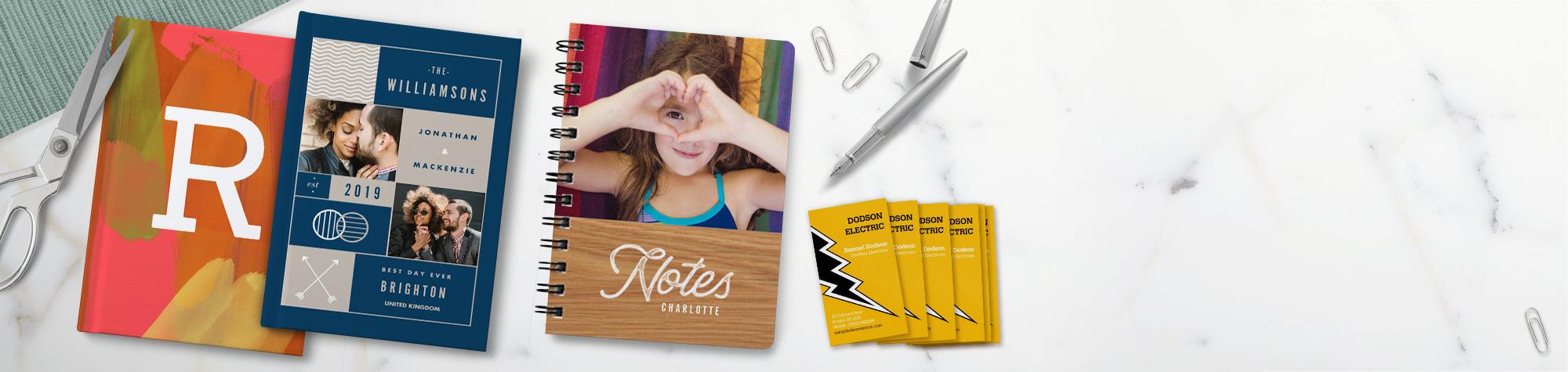 Personalised Stationery & Notebooks