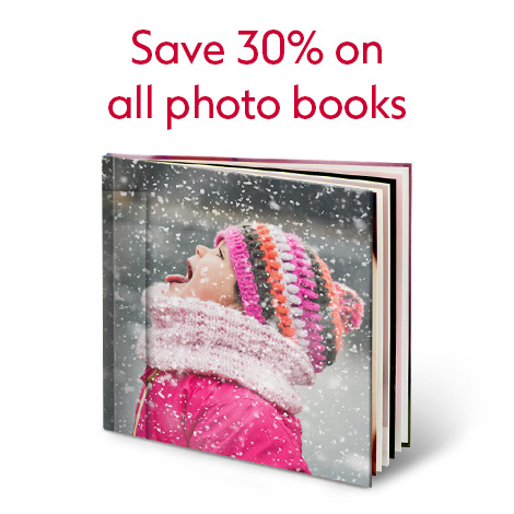 Save 30% on all Photo books