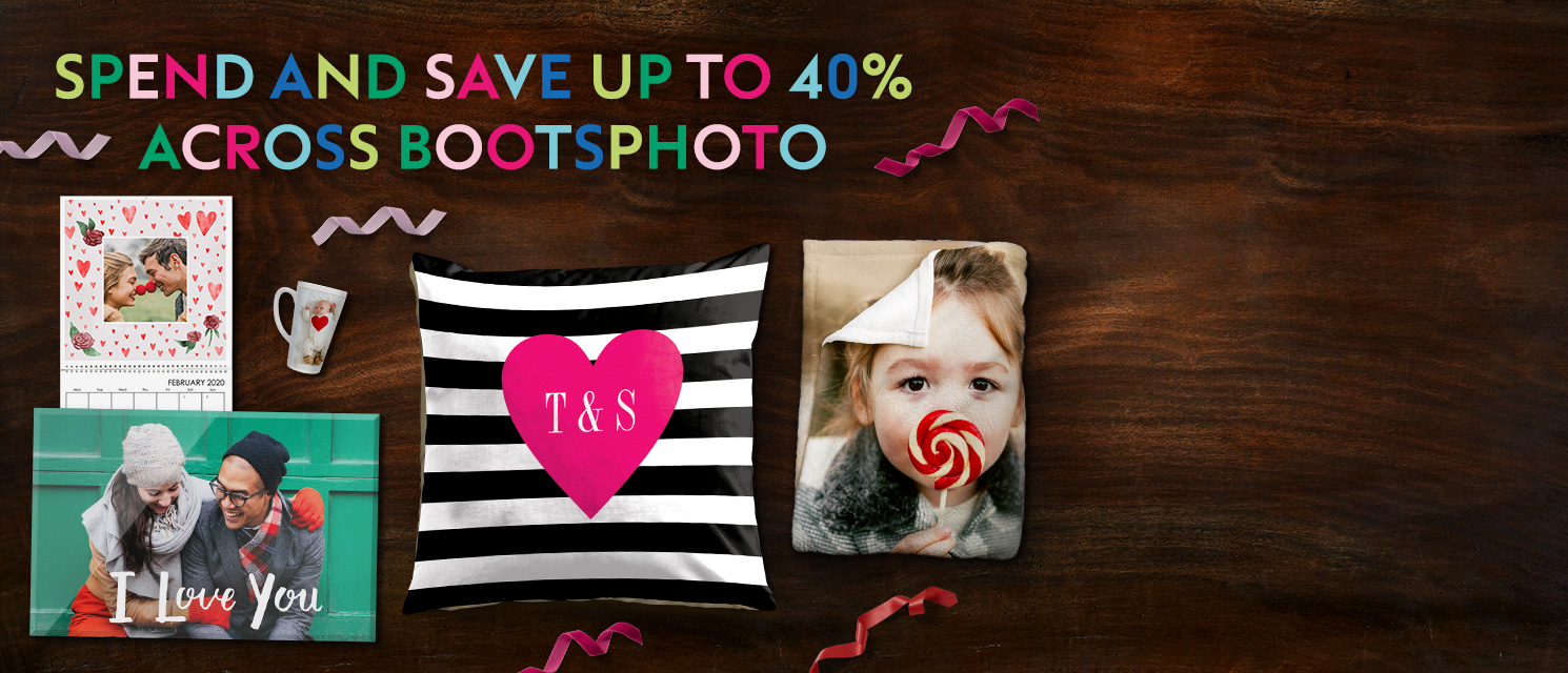 Spend and save up to 40% across bootsphoto.ie