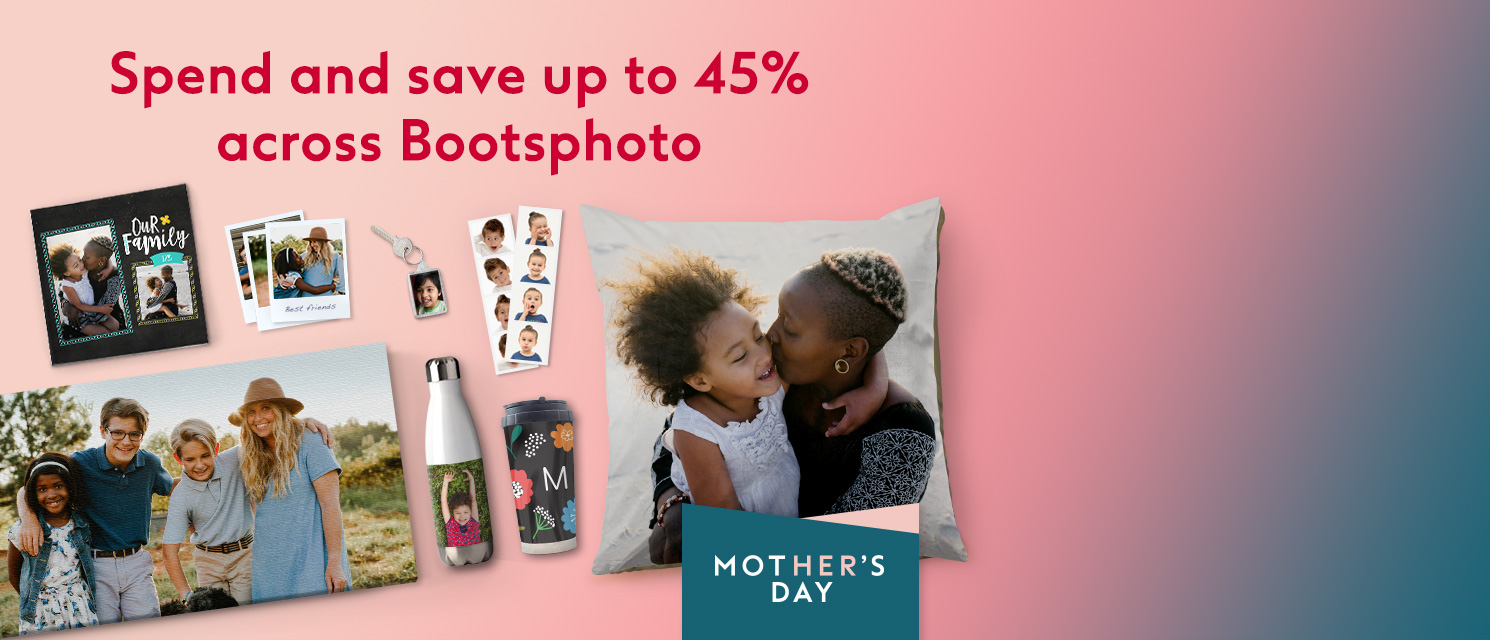 Spend and save up to 45% across bootsphoto.com*