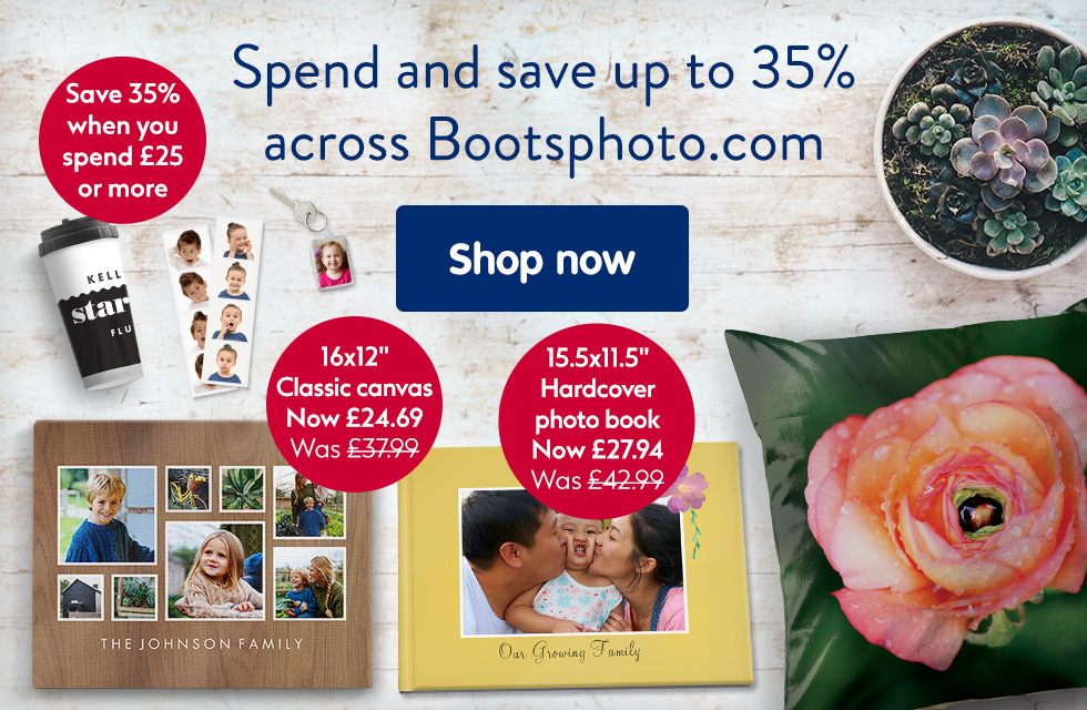Spend and save up to 35% across our entire site