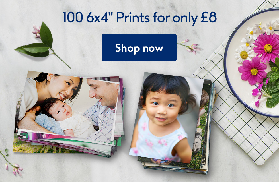 """100 6x4"""" Prints for £8"""