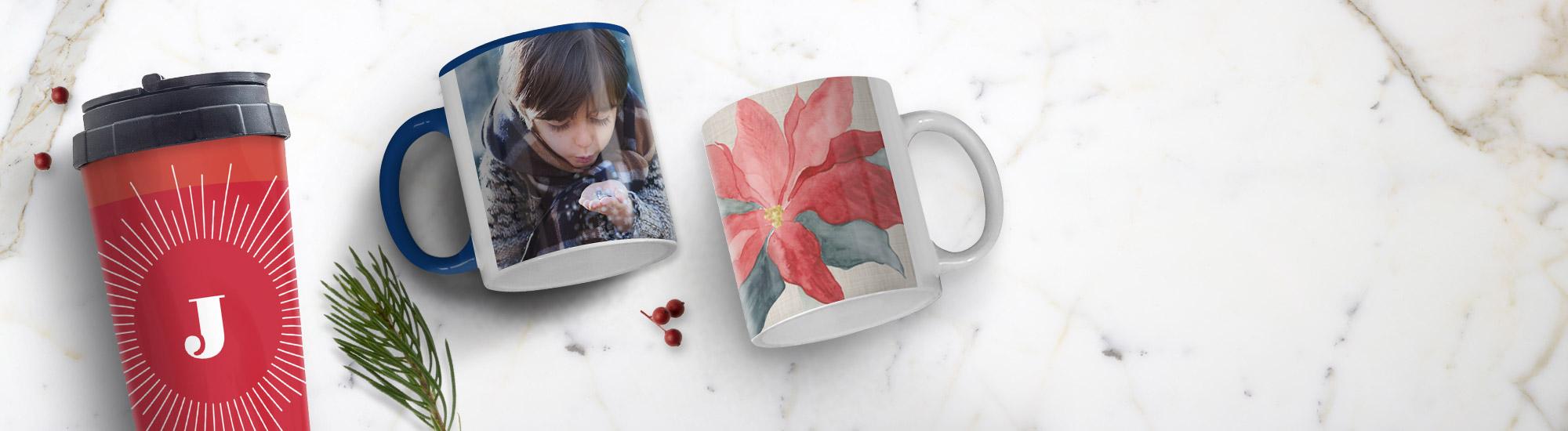 Personalised Mugs & Tableware