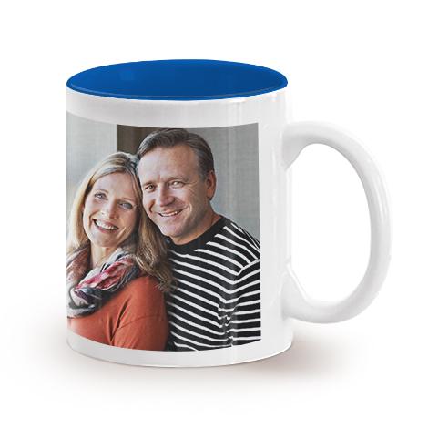 11oz Single & Collage Mug- Blue