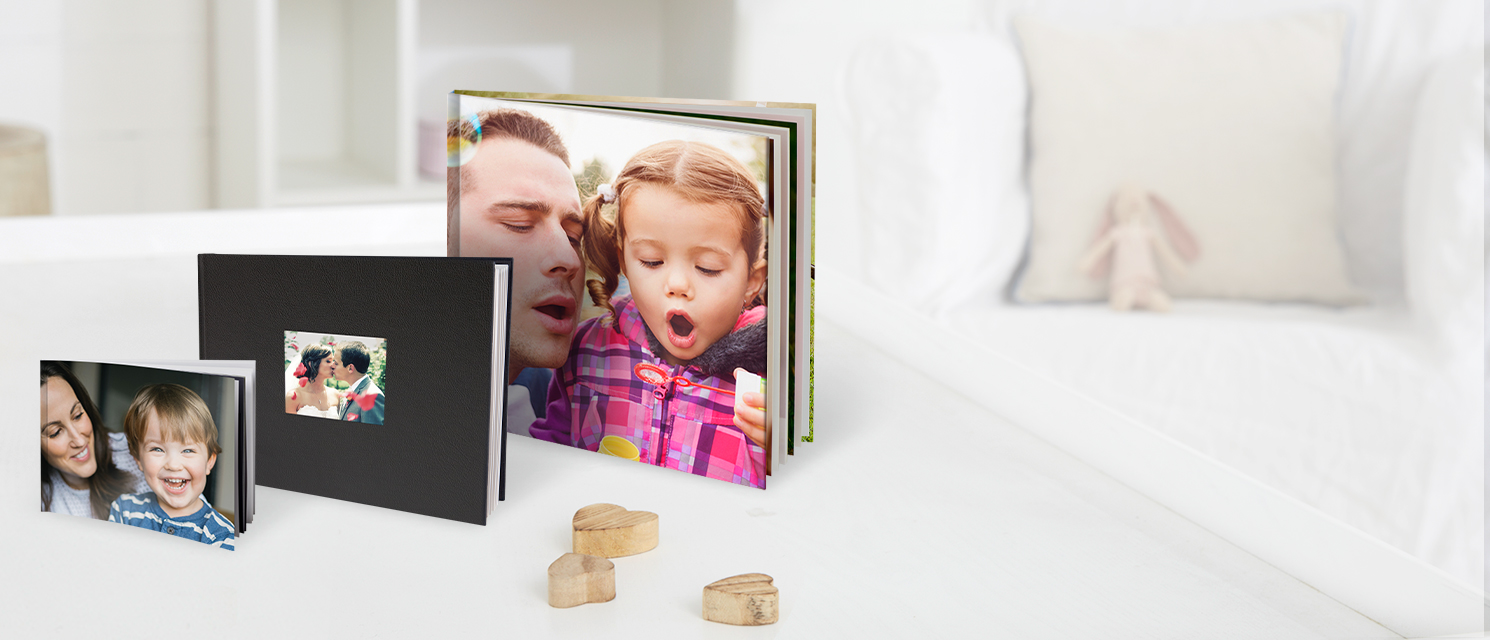 Beautiful Photo Books : The modern photo album - create stylish and personalised photo albums featuring your favourite photos