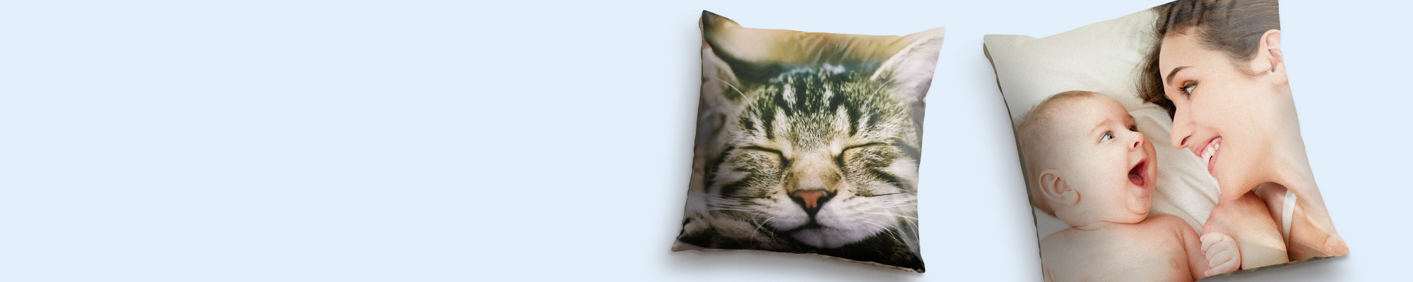 Photo Cushions Soft Faux Suede and Canvas cushions featuring your favourite images to compliment your home!