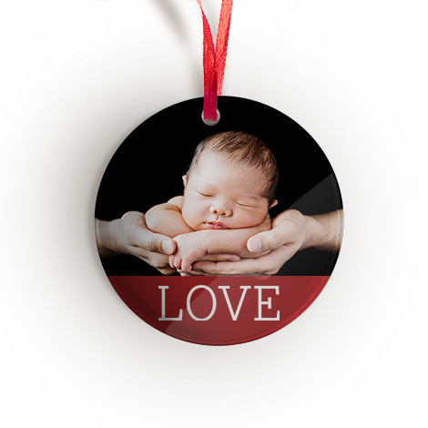 Acrylic Photo Ornament