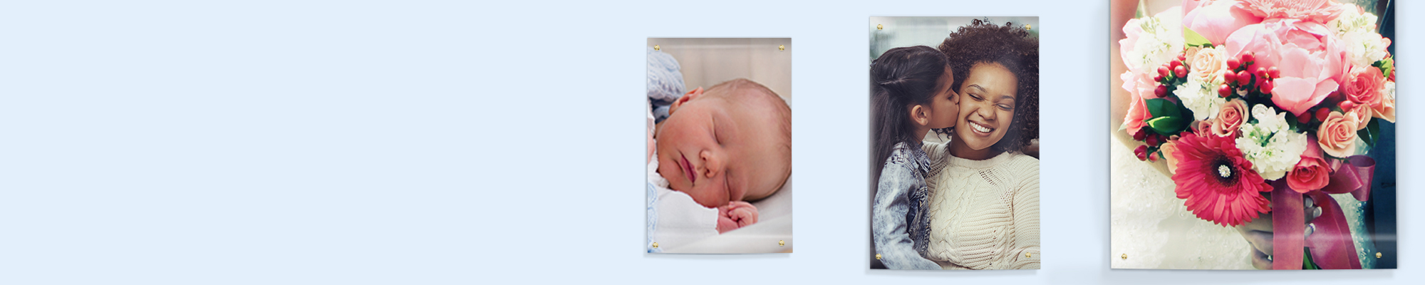 Photo Posters Why not go large with your favourite snaps and create personalised photo posters. Posters are great for birthdays, events and kids bedrooms