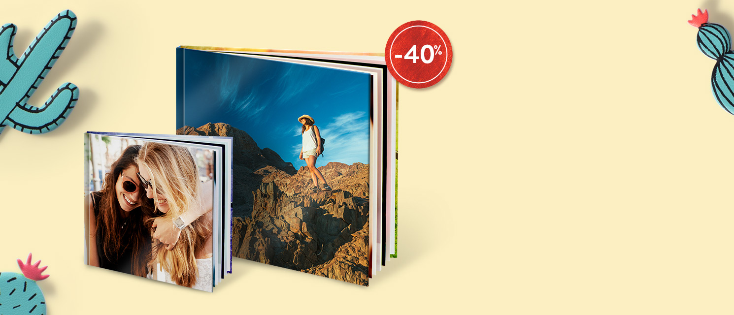 Sconto 40% sui FotoLibri :  Codice: BOOK817