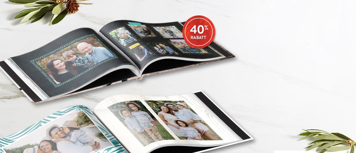 Erzählen Sie Ihre Geschichten ... : 40% Rabatt auf Fotobücher Gutscheincode: BOOK1117