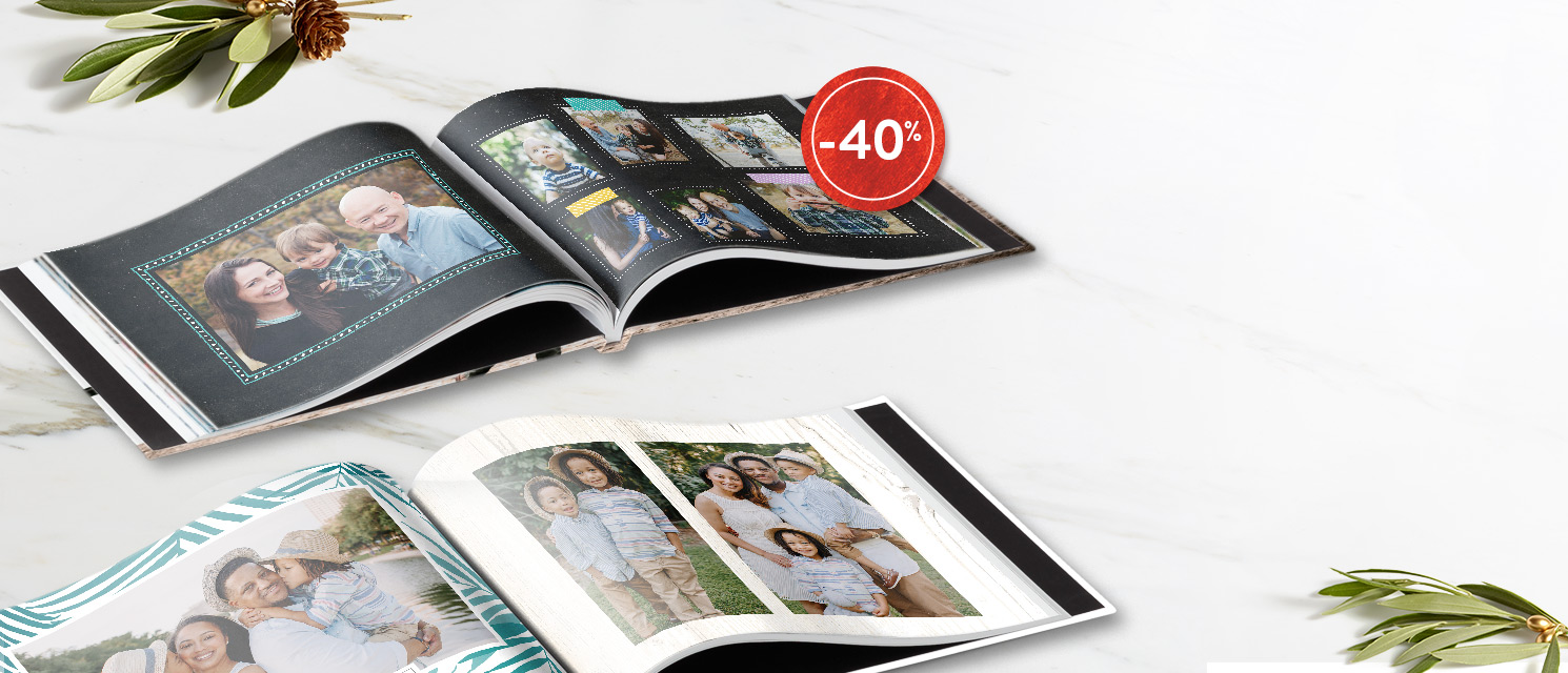 Racontez vos histoires... : -40% sur les Livres photoCode Promo : BOOK117