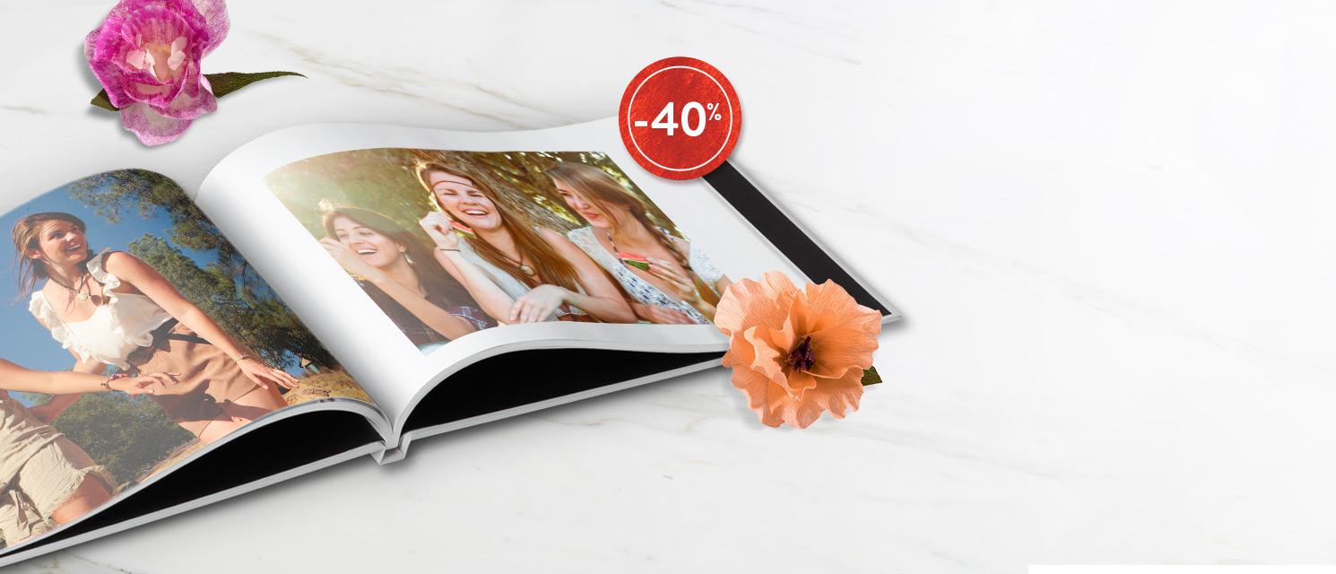 Ecrivez votre histoire : Livres Photo -40%   Code Promo : BOOK818