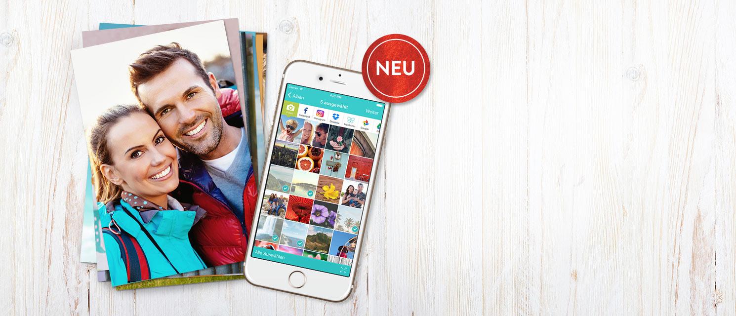 FreePrints App : Kostenlose 10x15 Fotoabzüge.. Zahle nur die Versandkosten.