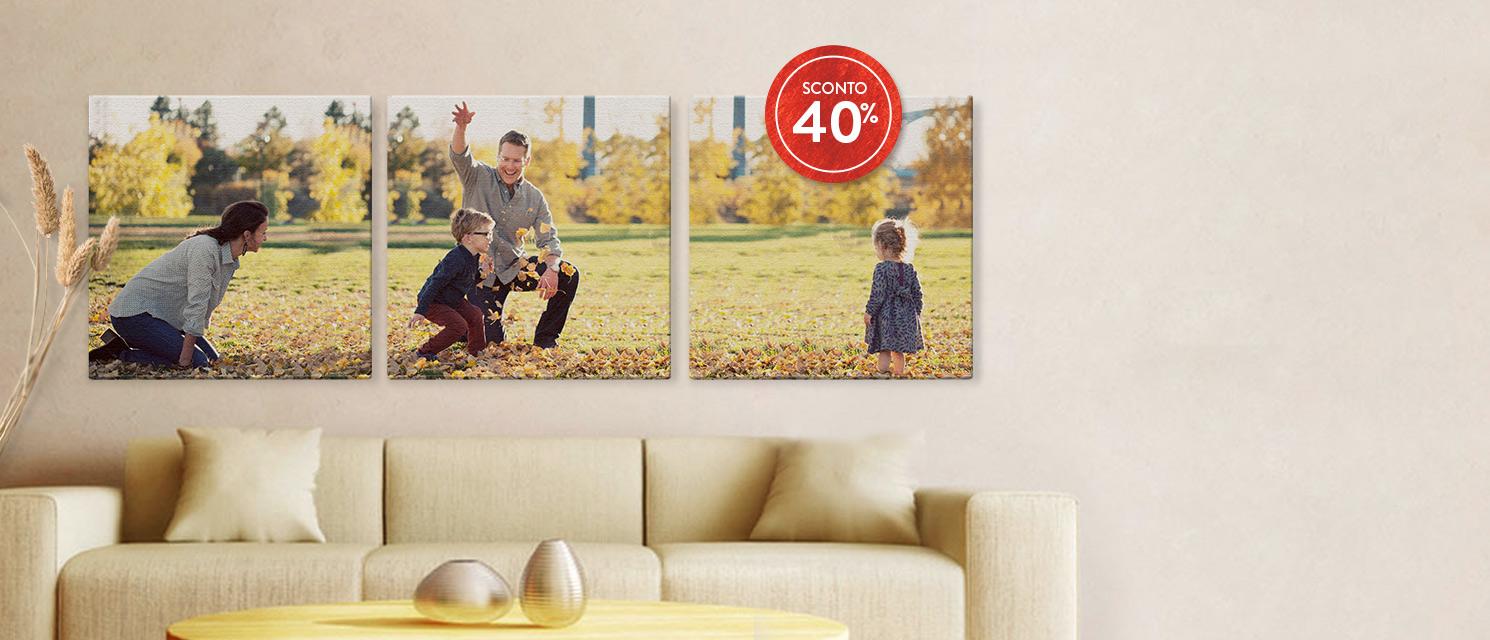 Fai risplendere le tue pareti… : 40% di Sconto sul FotoArredo Codice: WALL917