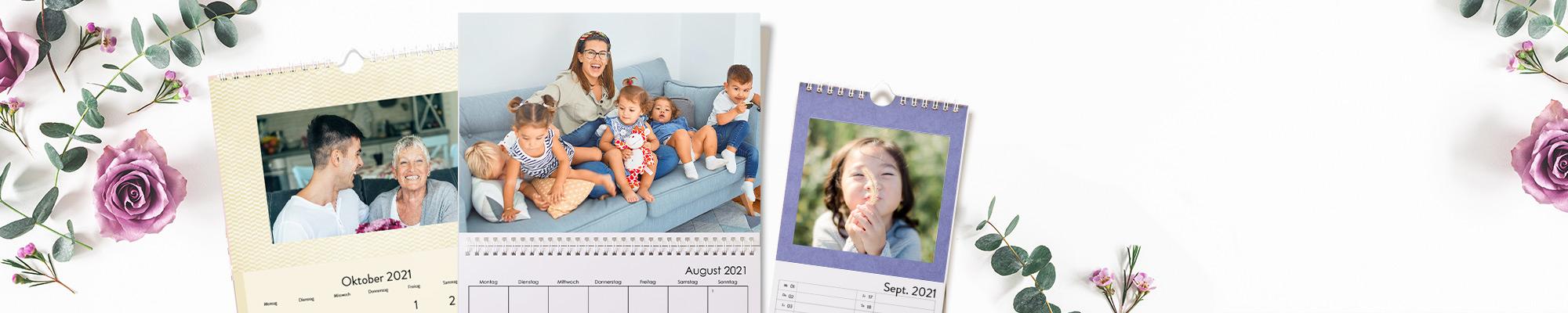 Individuelle Kalender 2021