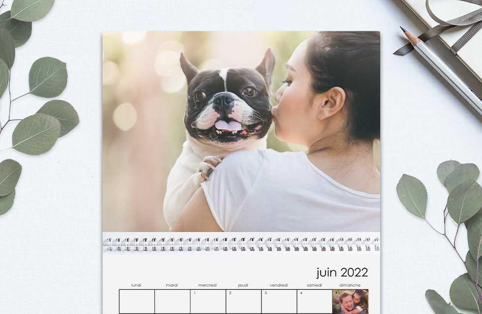 Calendrier photo - Créez facilement votre propre calendrier