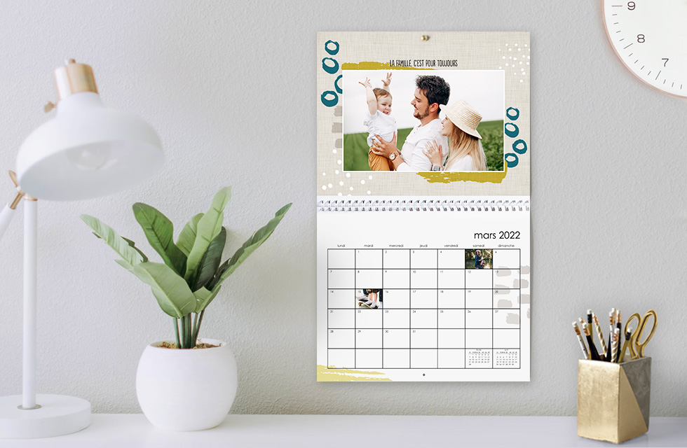 Calendrier phot