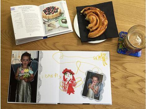 livre photo souvenirs et famille