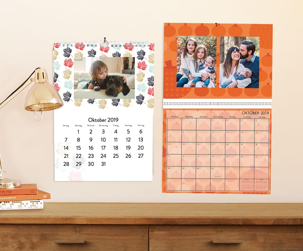 Kalender in Aktion