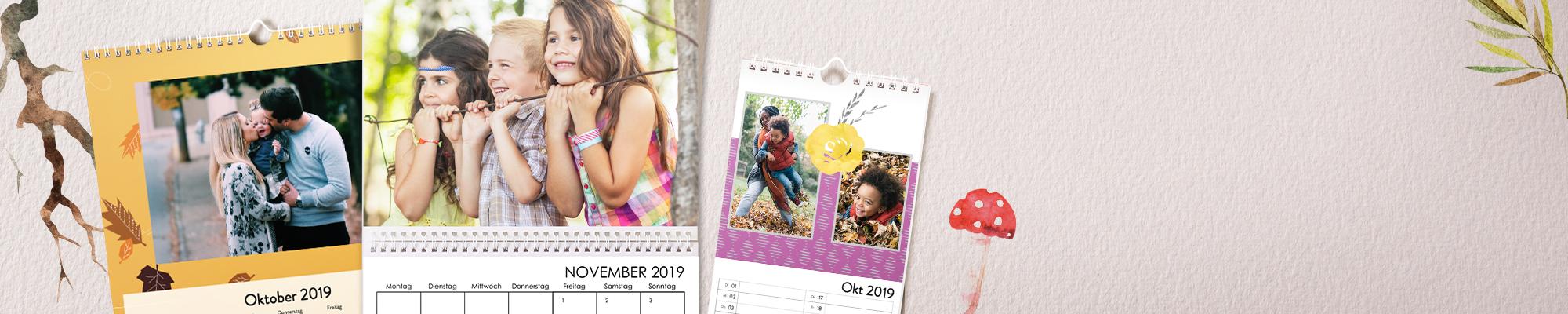 Individuelle Kalender 2019