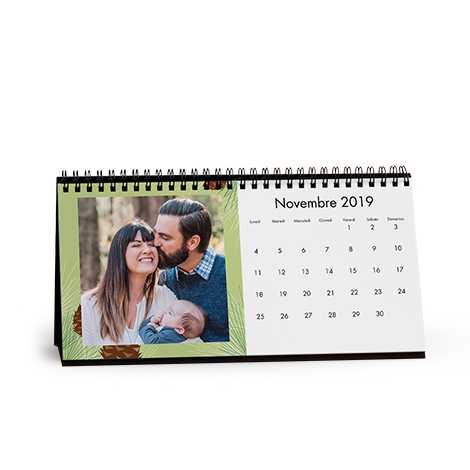 Calendaro da tavolo