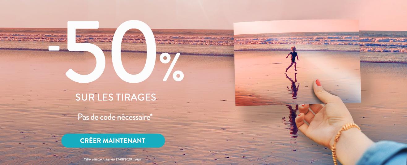 Tirages  -50%