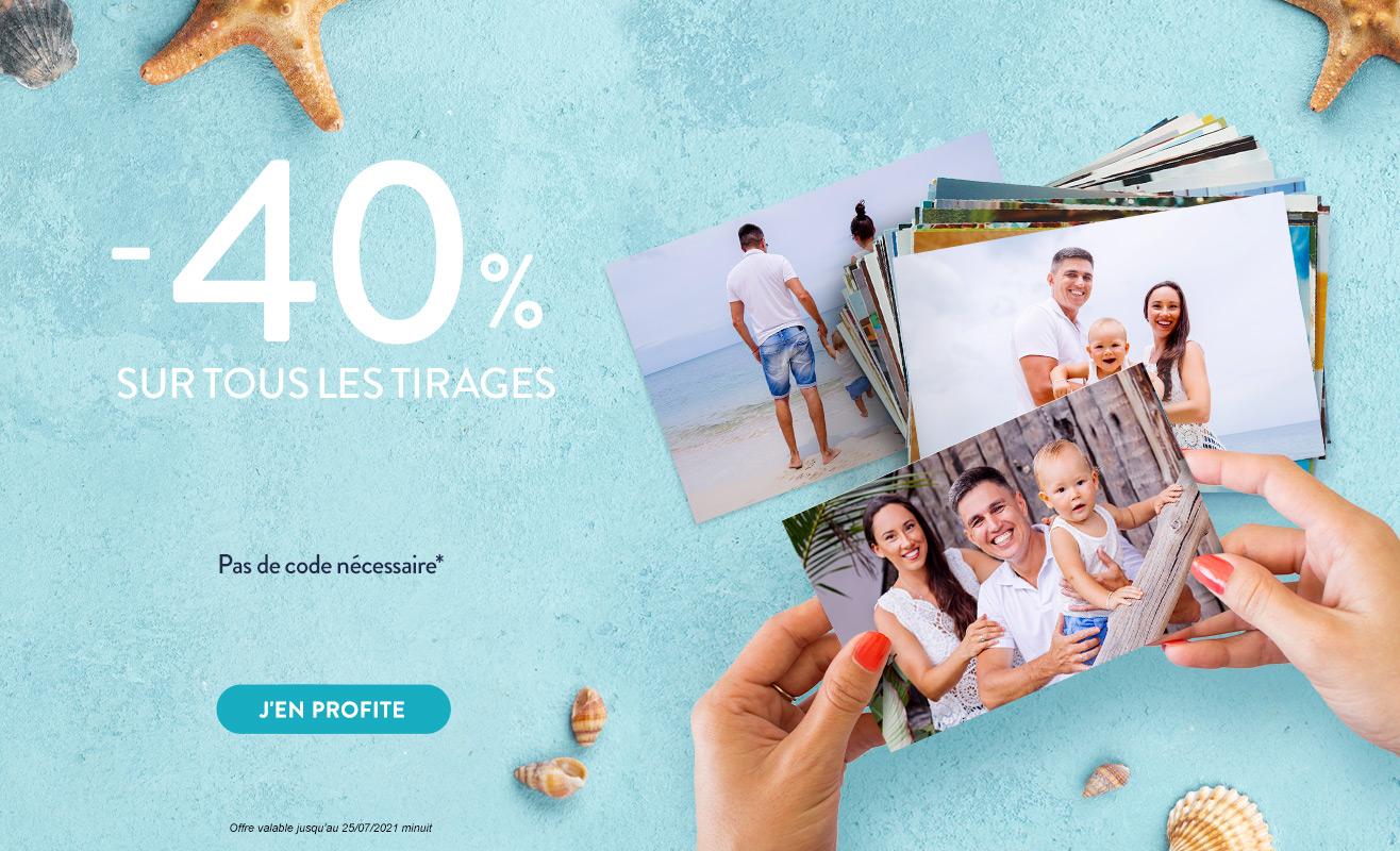 TIRAGES -40%