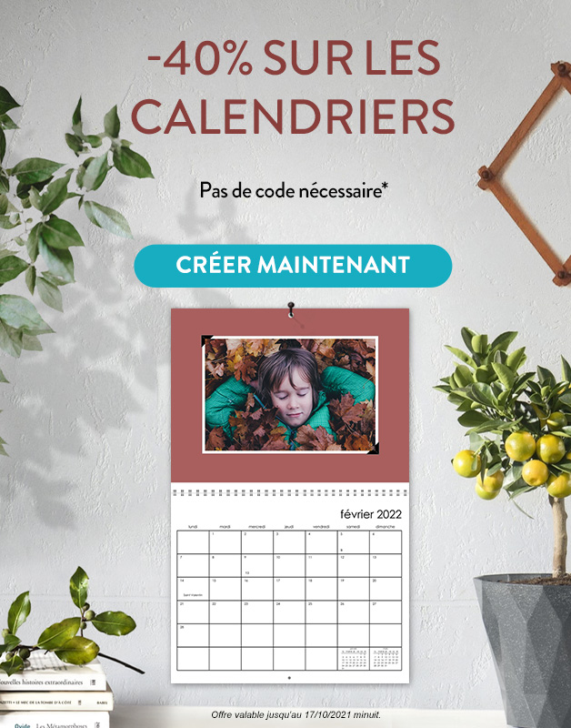 Calendriers -40%
